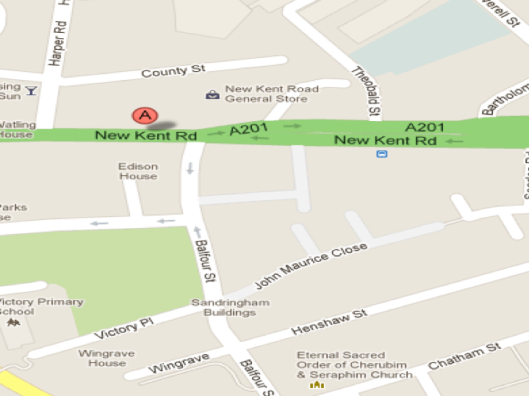 142 New Kent Road, 2013 Image Credit: Google Maps